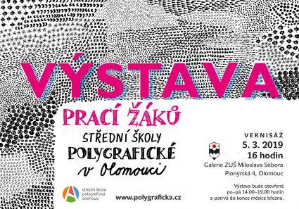 ss polygraficka VYSTAVA pozvanka