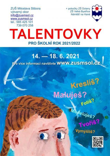 talentovky 2021
